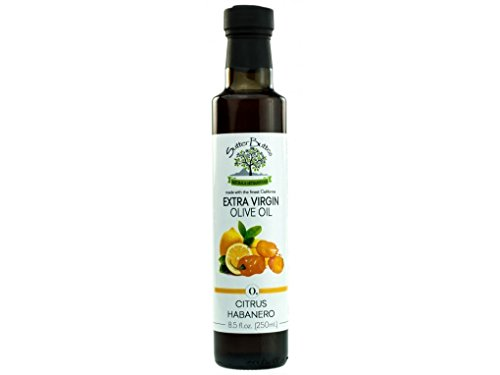 Sutter Buttes Citrus Habanero California Extra Virgin Olive Oil, 250ml (8.5oz)