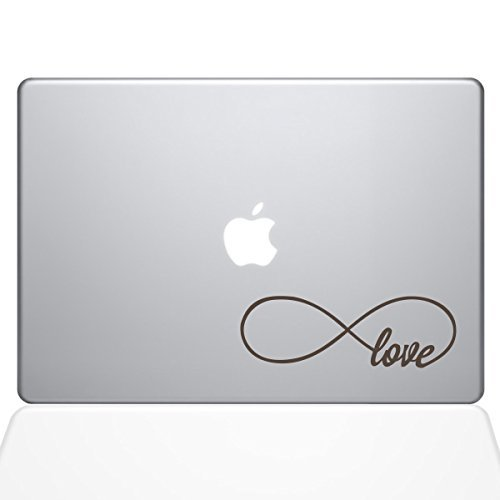 The Decal Guru Sticker Infinite Love Decal Pro Vinyl Guru Sticker 15 MacBook Pro (2016 & Newer Models) Brown (1646-MAC-15X-BRO) [並行輸入品] B07889CVM7, 子供服 なかよし:ebfe9a47 --- grupocmq.com