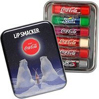 Coca Cola 6 x Flavoured Lip Smackers Collection