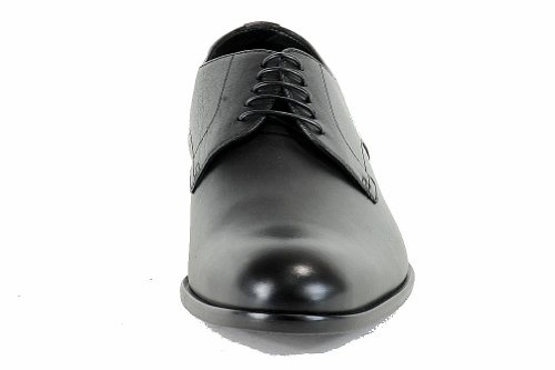 Hugo Boss Mode Oxford Brondor Chaussures En Cuir Noir 50247726 Noir