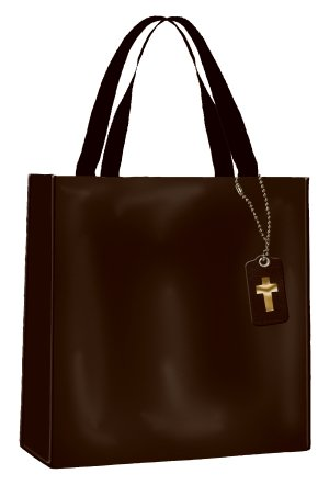 Divinity Boutique Tote-Bible Study - Black]()