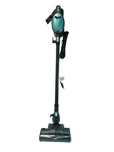 Shark Rocket Ultra-Light Upright Vacuum Cleaner HV306Q Handheld Vacuum and Wide Upholstery Tool Under-Appliance Wand Pet Multi Tool for Carpet and Hard Floor (Renewed) (Blue)