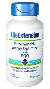 Life Extension Mitchondrial Energy Optimizer with PQQ -- 120 Capsules