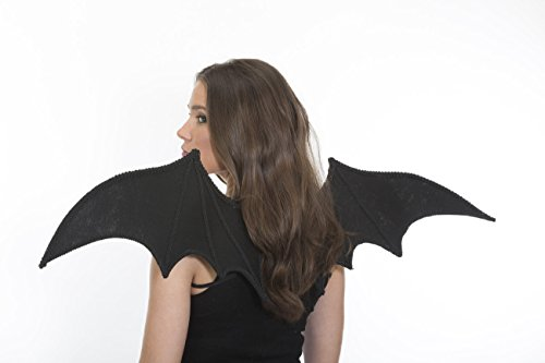 Jacobson Hat Company Halloween Costume Accessory Bat Wings with Elastic Straps,Black,One Size for $<!--$15.95-->