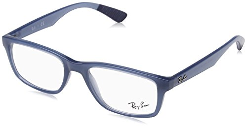 Ray-Ban Men's 0RX7063 Trasparent Light Blue One Size