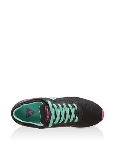 Le Coq Sportif Zapatillas Lcs R Xvi W Feminine Mesh Negro / Verde Agua EU 38