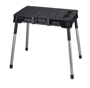 Keter 227477 portátil plegable banco de trabajo mesa de trabajo ...