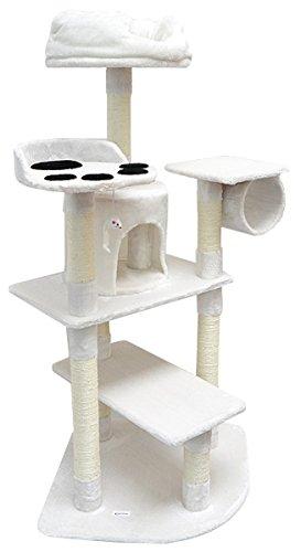 Rascador para gatos Sisal arbol 180 cm beis: Amazon.es: Hogar