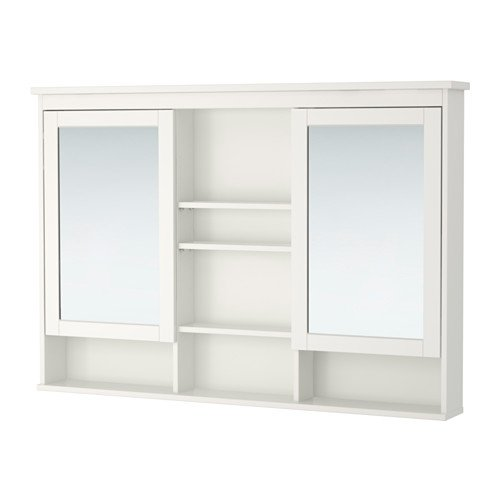 Ikea Mirror cabinet with 2 doors, white 47 1/4x38 5/8 '', 26210.292623.108 by IKEA