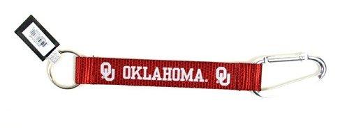 NCAA Oklahoma Sooners Carabiner Lanyard Keyring