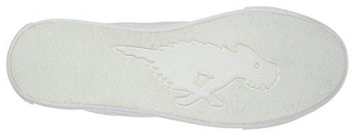 Women's Sneaker White Dog 8a Rocket Canvas Campo Fashion 5vzyw