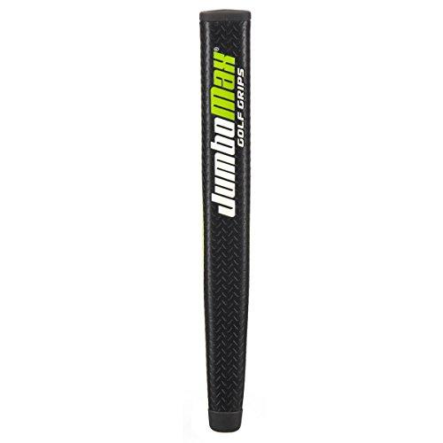 (JumboMax MJ Putter Grip, Black/White/Lime)
