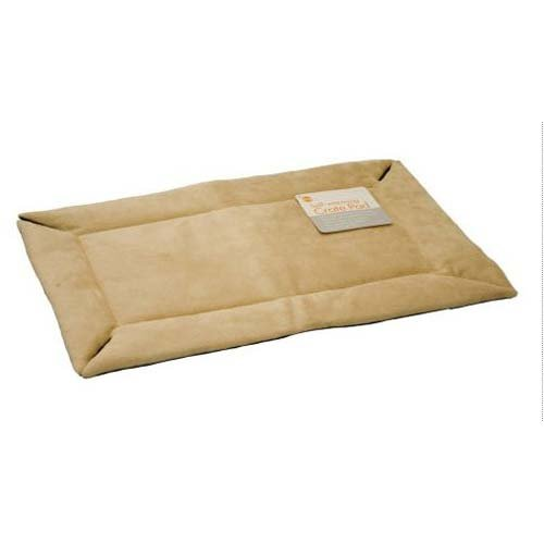 Self-Warming Crate Pad Tan 32'' x 48'' x 0.5'' (3 Pack)