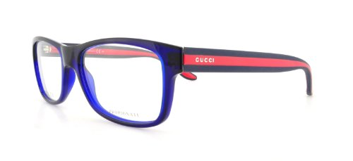 Gucci GG1046 Eyeglasses-0CUO Blue-52mm