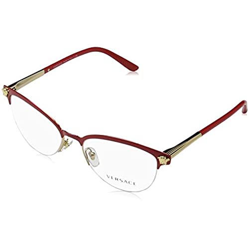 Red and Gold Eyeglasses Frames: Amazon.com