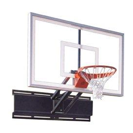 最初チームUnichamp Nitro steel-glass調節可能な壁マウントバスケットボールsystem44 ;フォレストgreen44 ;調節可能な壁マウントバスケットボールシステム   B01HC0CX6Y