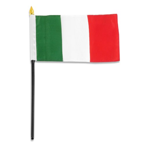 US Flag Store Italy Flag, 4 by 6-Inch - WIT46HF