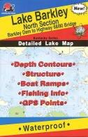 Lake Barkley North Section Fishing Map (Kentucky Lake Fishing Series, L112) by Fishing Hot Spots