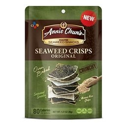 Annie Chuns Seaweed Crisps Original, 1.27 oz by Annie Chun's (Image #1)