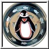 Enamel Kitchen Strainer Penguin