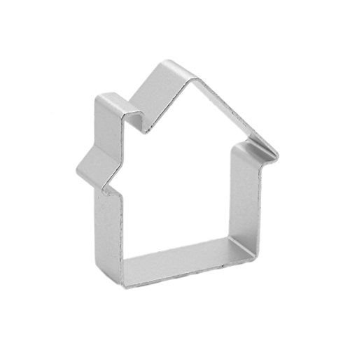 Joylive House Shaped Sugarcraft Cake Decorating Cookies Baking Pastry Cutter Mould Tool