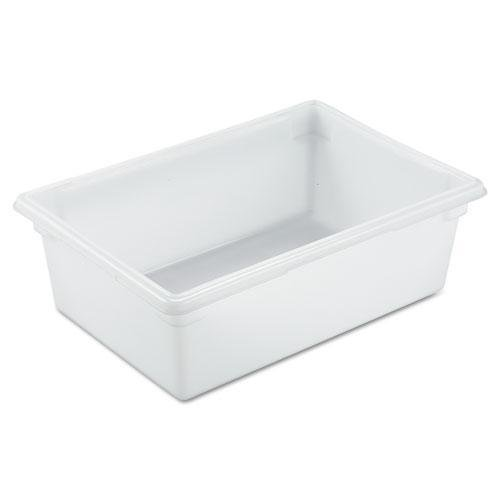 RUBBERMAID COMMERCIAL PROD 3500WHI Food/Tote Boxes, 12.5gal, 26w x 18d x 9h, White from Rubbermaid Commercial Products