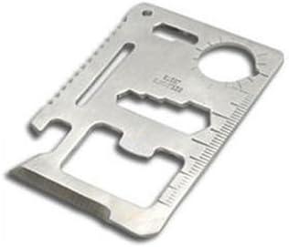 11 in 1 Pocket Survival Credit Card Multi-Tool 20 Pack