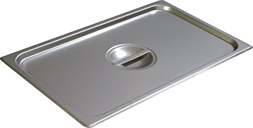 Carlisle 607000C DuraPan Light Gauge Stainless Steel Full-Size Steam Table Food Pan Handle Cover (Pack of 6)