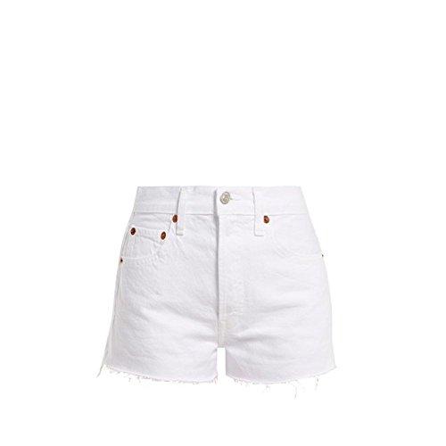 変数夫婦アラビア語(リダン) Re/Done Originals レディース ボトムス?パンツ ショートパンツ The Short raw-hem denim shorts [並行輸入品]