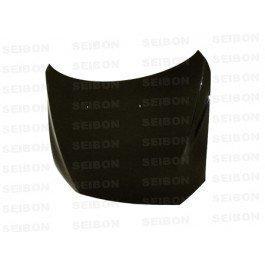 SEIBON 08-09 Lancer Carbon Fiber Hood OEM - Oem Hoods Oem Seibon