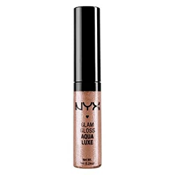 NYX Professional Makeup Glam Lip Gloss, Stone Foxy, 0.23 Fluid Ounce