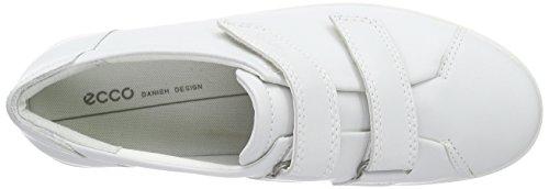 Ecco Soft 2.0, Sneakers Da Donna Bianco (1007white)