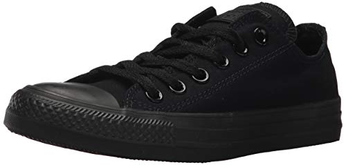 Converse Mens Chuck Taylor All Star Ox Black Monochrome 3 Classic Sneakers M5039]()