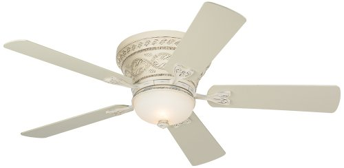 French White Fan Blades - 52
