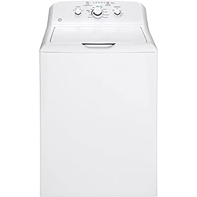 GE 3.8 DOE Cu Ft White Top Loading Washer