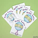 Fun Express - Baby Shower Lotto Game Cards (24 Pieces)