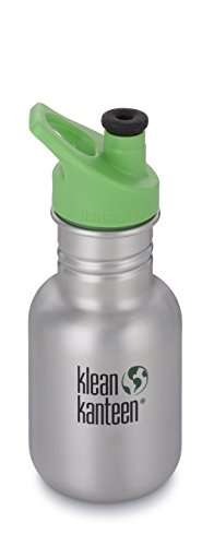 Klean Kanteen Kid Kanteen Classic Sport Single Wall Stainless Steel Kids Water Bottle with Sport Cap 3.0