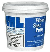 CRL Quart Wood Sash Putty by CR Laurence