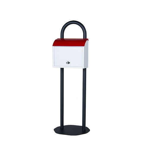 郵便ポスト 郵便受け 自立式スタンドポスト マイスタンドセット ホワイト ZY3 自立式 B078V3T383 27090