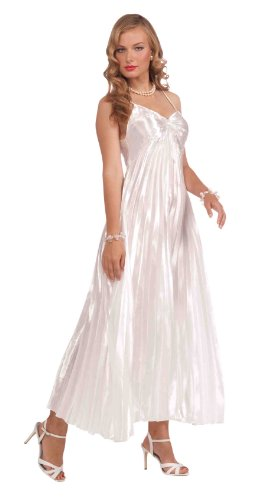 Classic Hollywood Halloween Costumes (Forum Vintage Hollywood Collection Goddess Costume, White, Standard)