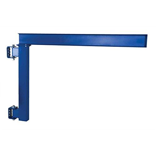 (Vestil Low-Ceiling Wall Mounted Jib Crane JIB-LC-10 1000 Lb. Capacity)