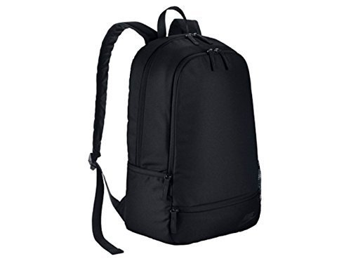 Nike Classic North Solid Backpack for Men, One Size black Negro (Black / Black / Black) Size:only size