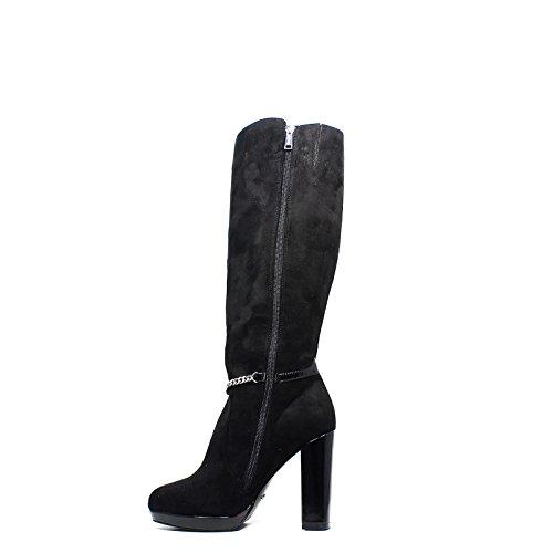 Gaudìbottes pour femmes avec des hauts talons noirs V64-64793 automne hiver 2016 2017