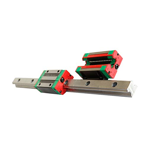 Ochoos Sliding Block HGH20CA Used in HG20 Bearing Guide Rail Guide Length: HGH20CA