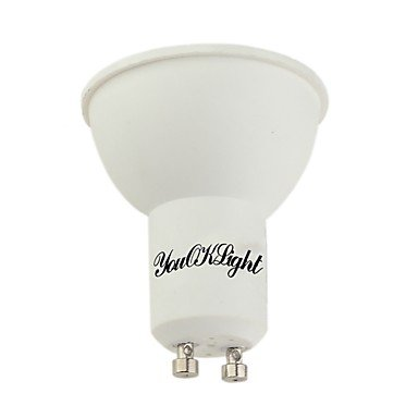 YouOKLight 4PCS GU10 5W 400LM AC85-265V 10SMD 5730 LED Warm White/Cool White 3000K/6000K Plastic Coated Aluminum LED Spotlight , 85-265v