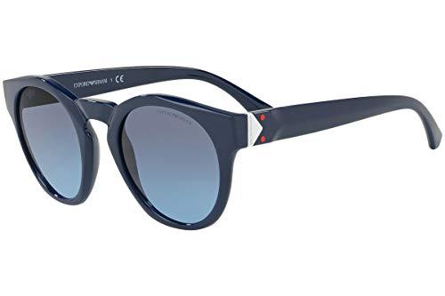 Emporio Armani EA4113 Sunglasses Blue w/Blue Gradient Lens 51mm 56618F EA 4113