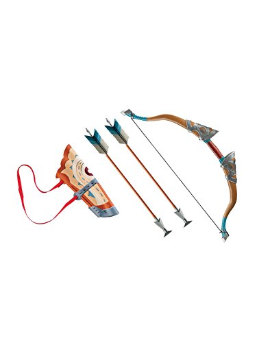 - Disguise Link Breath of The Wild Deluxe Bow Set W/Quiver & Arrows Costume Accessory, No Size