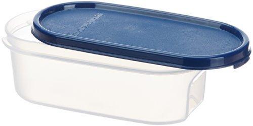 Signoraware Modular Oval No.1 Plastic Container, 500ml, Mod Blue