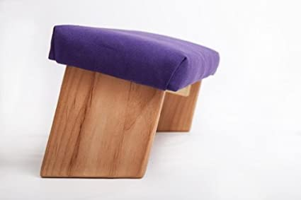 Amazon.com: Banco de meditación plegable, patas de ángulo ...
