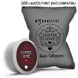 100 capsule compatibili sistema Lavazza* espresso Point FAP by Coffee Love